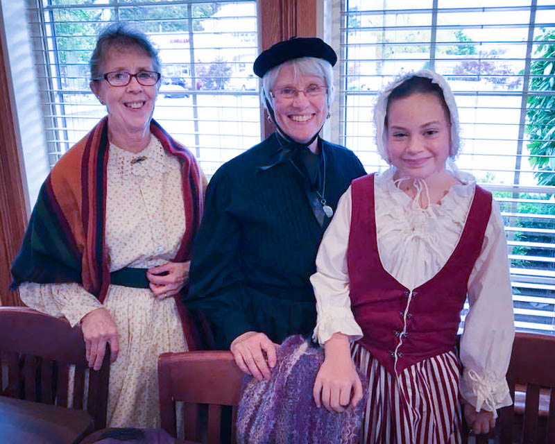 Ann Horvath, Jane Ward, and Hanna Olson Portraying Mary Hoolingsworth.jpg